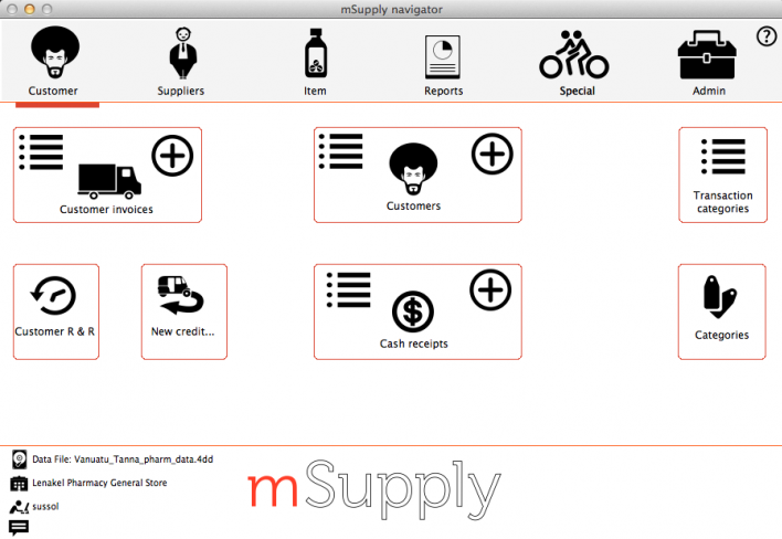 mSupply Navigator